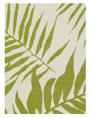 Green Homemaker Botanical Pattern Rug