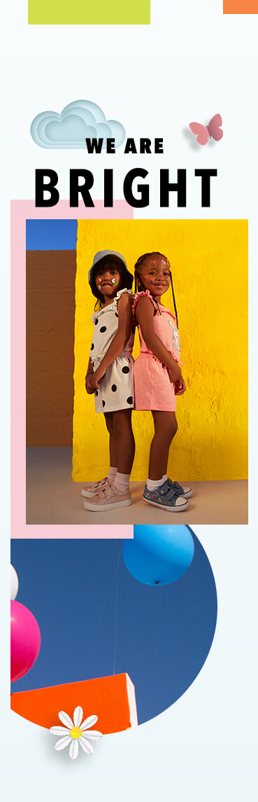 Get them set for spring with our fun range of playsuits