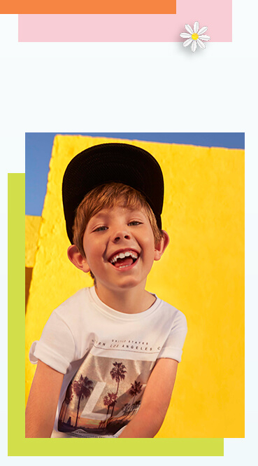 Discover our range of kids' graphic T-shirts