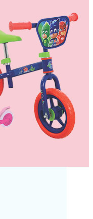 Keep them active and entertained with this PJ Masks bike