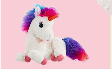 This cuddly unicorn will help take them on an Easter adventure