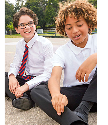 Start the new term with our collection of boys and girls' smart school uniforms at George.com