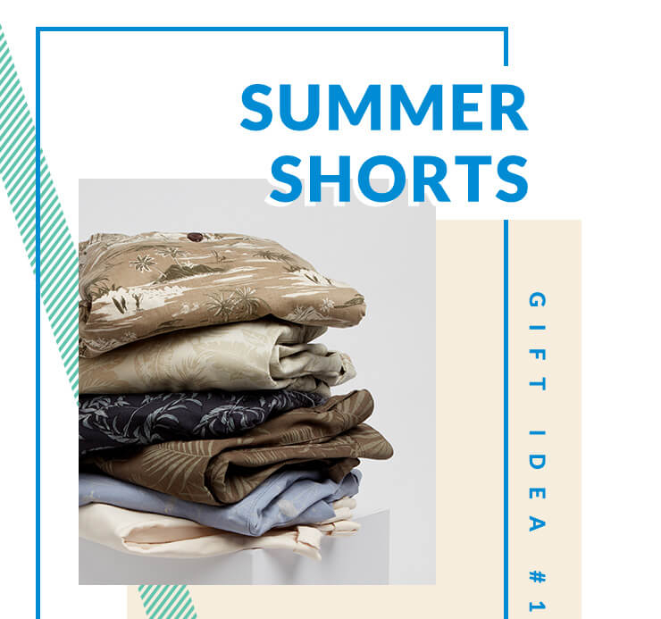 Treat your dad to a pair of stylish shorts this Father's Day