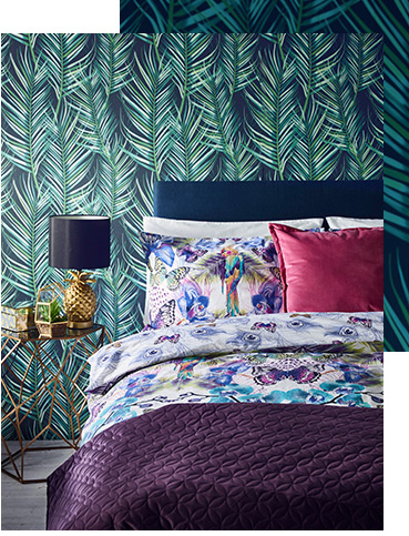 Get lost in luxury with our new Luxe bedroom collection