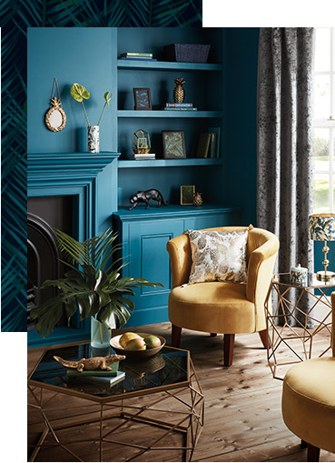 Shop our Luxe living room collection