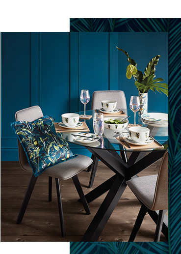 Shop our Luxe dining range