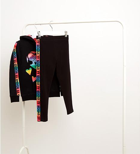 Transform their wardrobe with our fun-filled Tiana clothing range