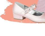 Whatever the occasion, these pink mid heel shoes will be a dazzling finish to their look