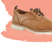 These shoes are a great choice for a smart casual look
