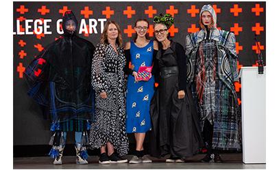 Our Catwalk to Store award was won by Rosie Baird