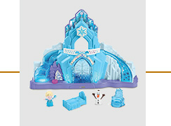 Elsa's ice palace toy