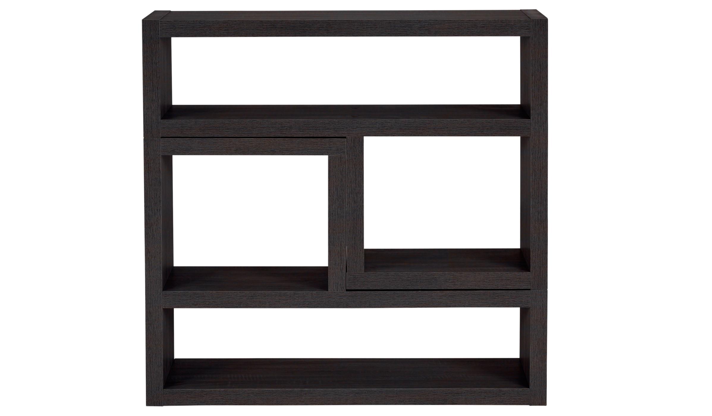 leighton living room furniture range dark oak effect living