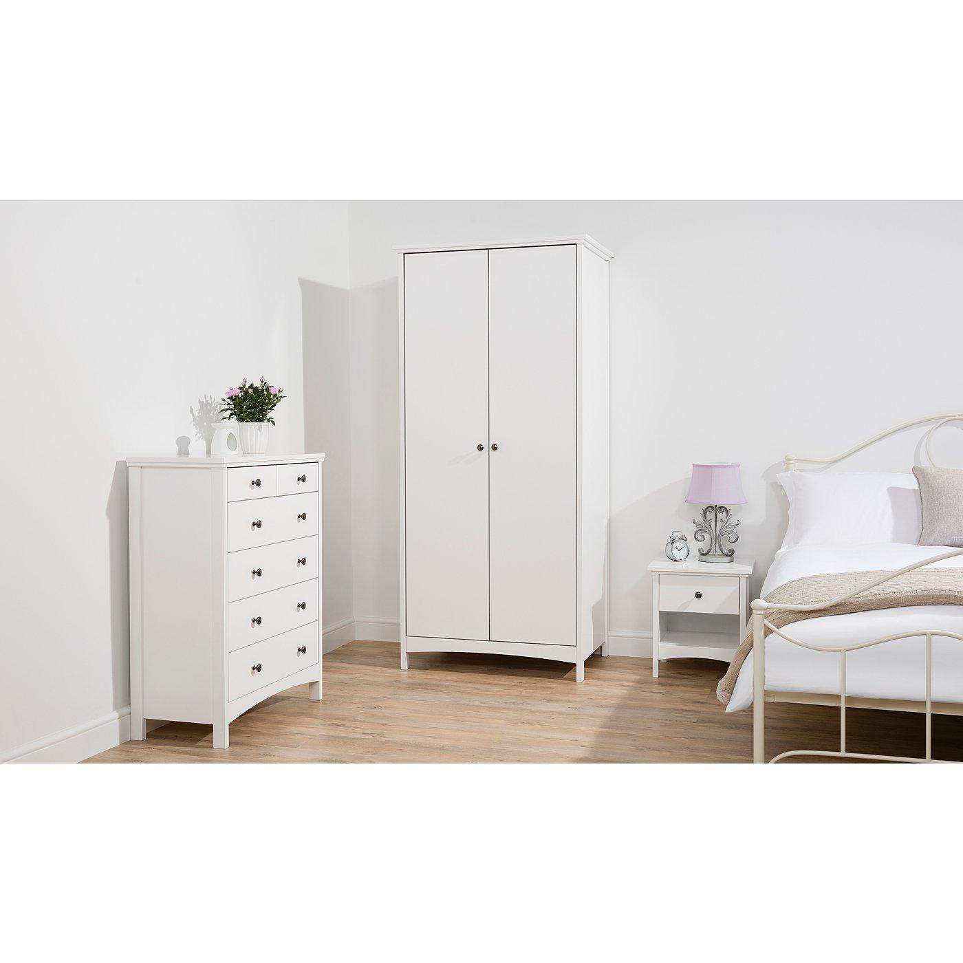 Tamsin Bedroom Furniture Range White Bedroom George At Asda