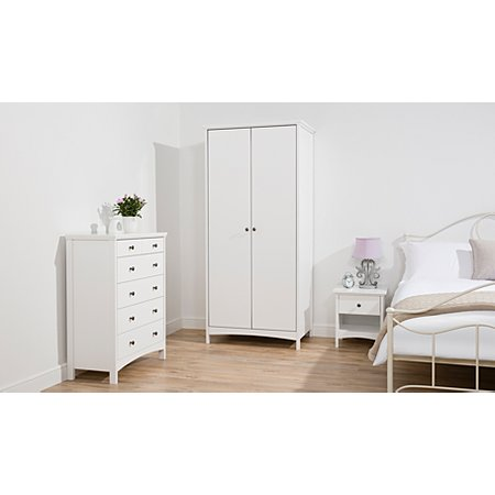 George Home Tamsin Bedroom Furniture Range   White. George Home Tamsin Bedroom Furniture Range   White   Chest of