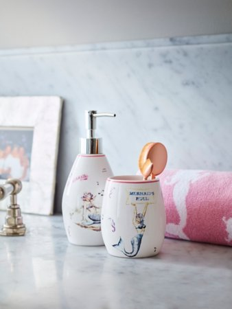 Mermaids Rule Bathroom Range