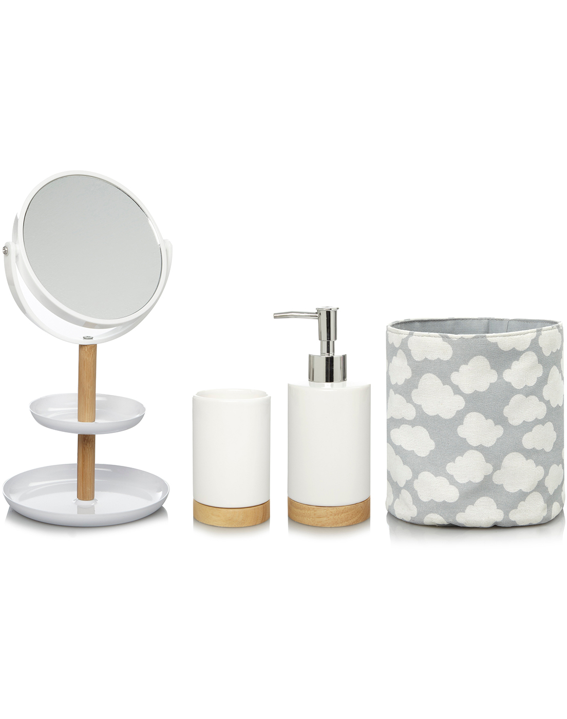 Bathroom Ornaments bathroom accessories | home & garden | george at asda