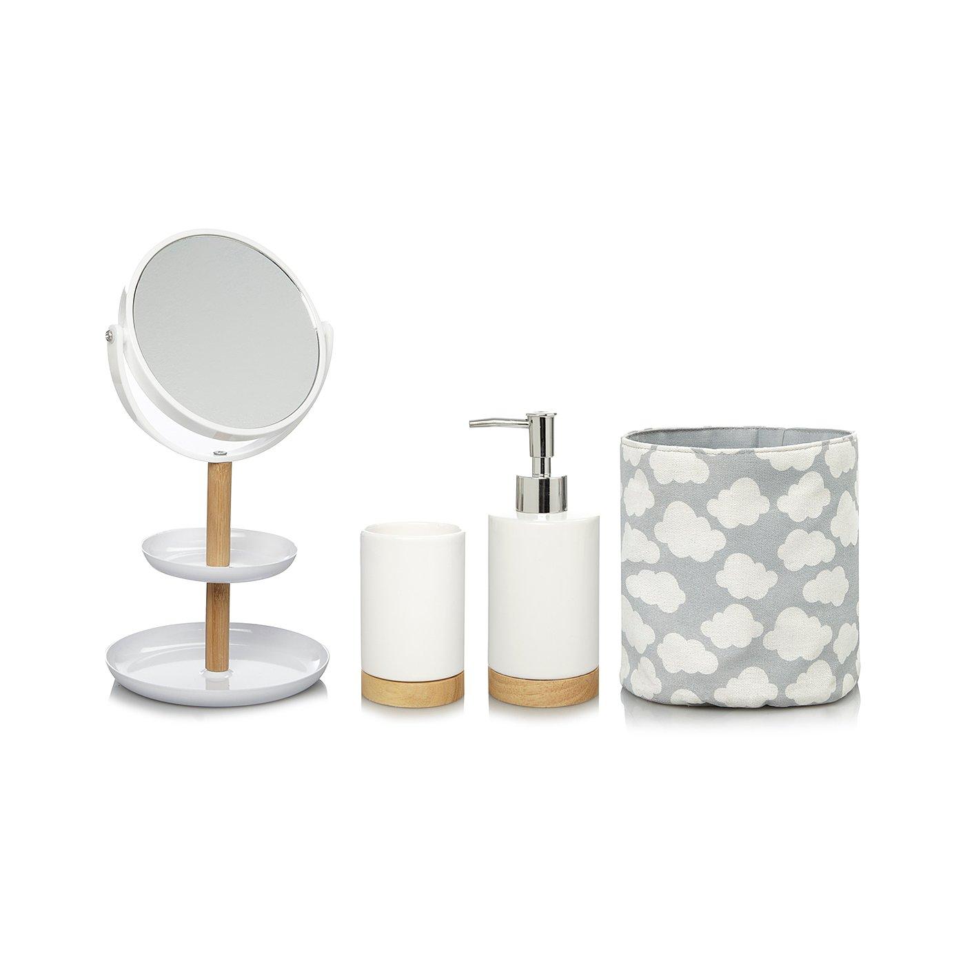 Modern Organic Clouds Bathroom Accessories Range Loading Zoom