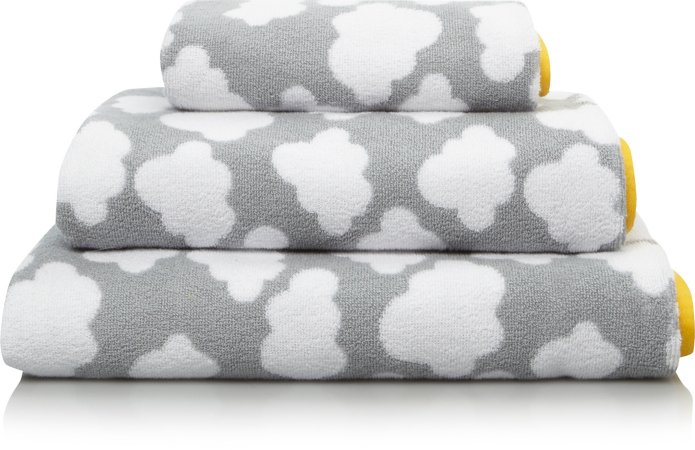 100% Cotton Towel Range - Modern Organic Cloud