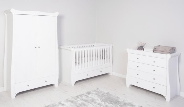 nursery furniture range white wardrobes