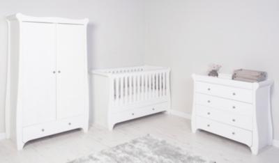 Jessica Nursery Furniture Range   White