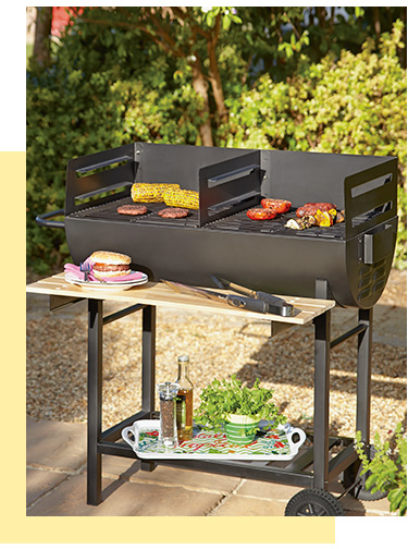 Get the fire going and cook up a feast with our selection of BBQs at George.com