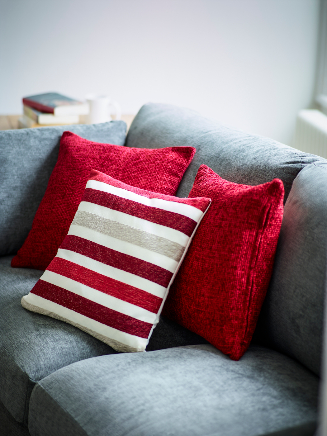 Red Cushions Home & Garden