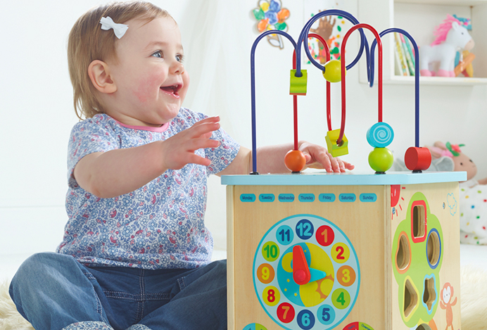 Teach your baby mobility and co-ordination skills with our range of fun, educational toys