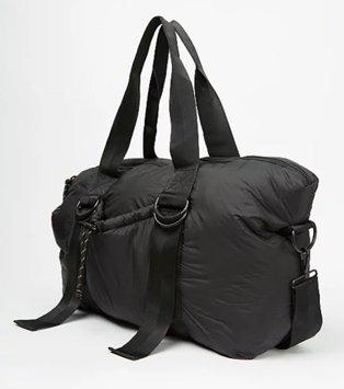 Black maxi holdall bag.