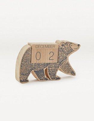 Bear Calendar Block