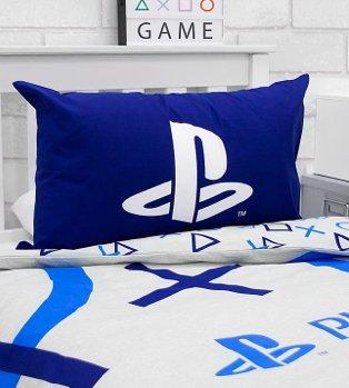 Blue Playstation Duvet Set.