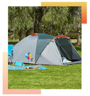 Camping with the family? This large tent is the perfect pick