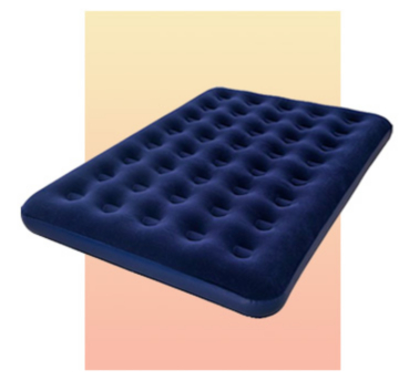 Ensure a comfy night's sleep with an air bed