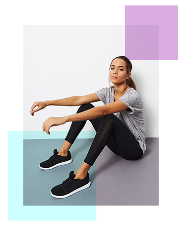 Comfy, stylish, practical sportswear is a must for the gym