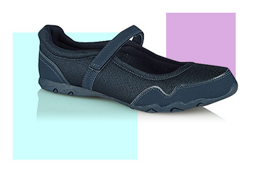 The padded insole in these ballet shoes helps keep your feet nice and comfortable when you're exercising