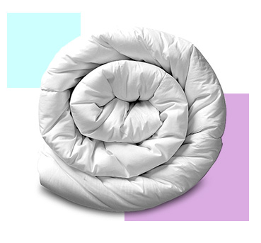 Update your bedding with a chunky duvet