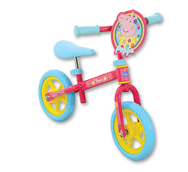 Get exploring with our Peppa Pig bike!