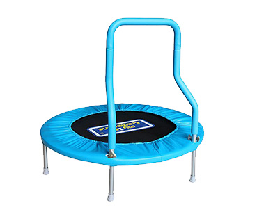 Get them outdoors with a fun trampoline