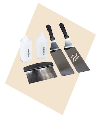 The 5-Piece Classic Outdoor Cooking Set is everything you need to take your outdoor cooking to the next level