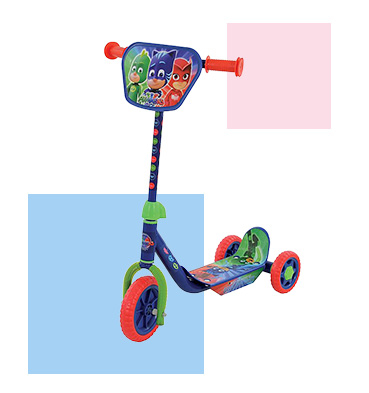 Little adventurers will love our PJ Masks scooter