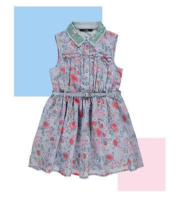 Give their wardrobe a blossoming touch with a floral dress