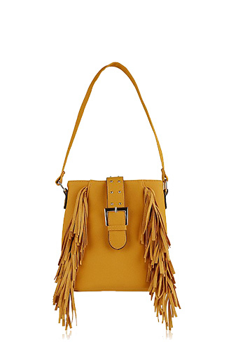 Effortlessly stylish, our fringe cross-body bag is the perfect festival accessory