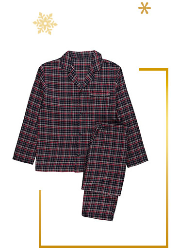 Check pyjamas are great for Christmas but can also be worn all year round