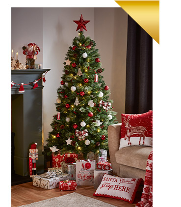 Christmas trees are the focal point of your festive decorations