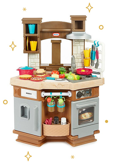 Help pretend play fans cook up a treat with our toy kitchens