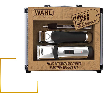 Clip, trim and tidy with this Wahl Premium Clipper Gift Set