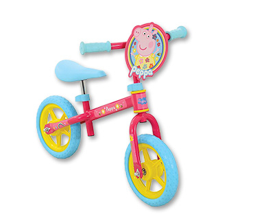 Get them outdoors with a Peppa Pig bike
