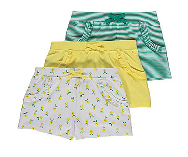 Keep them cool and comfortable in a pair of colourful shorts