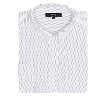 Sharpen up your look with a crisp white shirt