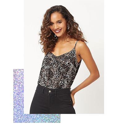 Make a statement with a printed vest top