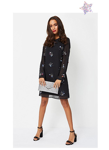 Sparkle the night away in a LBD